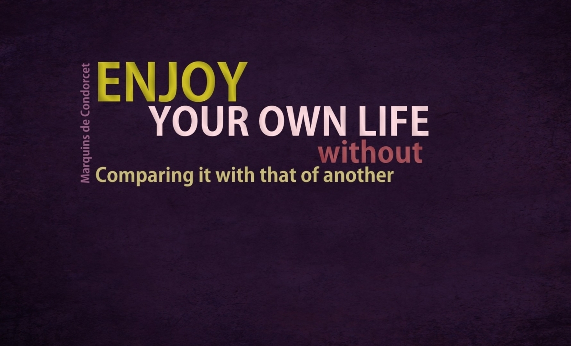 Wallpaper download english - Enjoy Your Life Quotes Desktop Wallpaper Free For Desktop Download