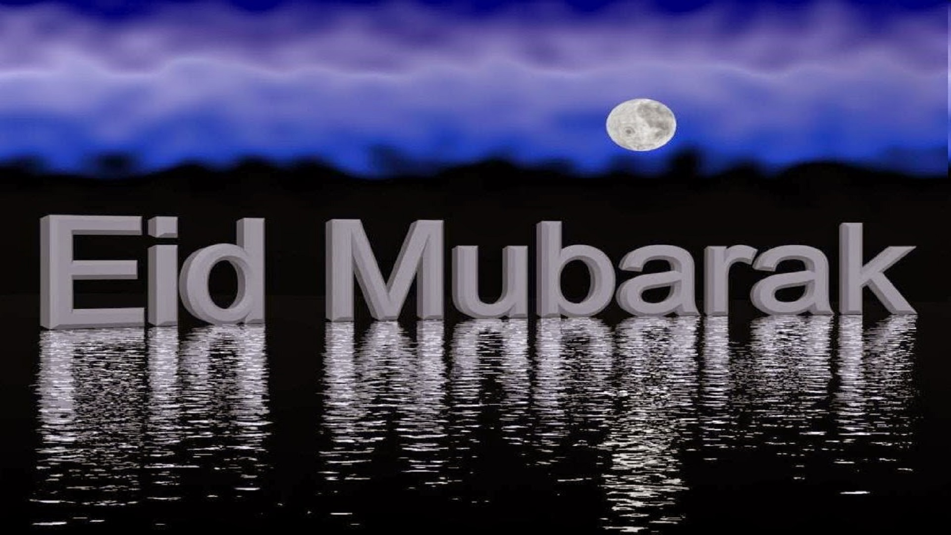 Eid Mubarak Moon Image Wallpapers Free Hd