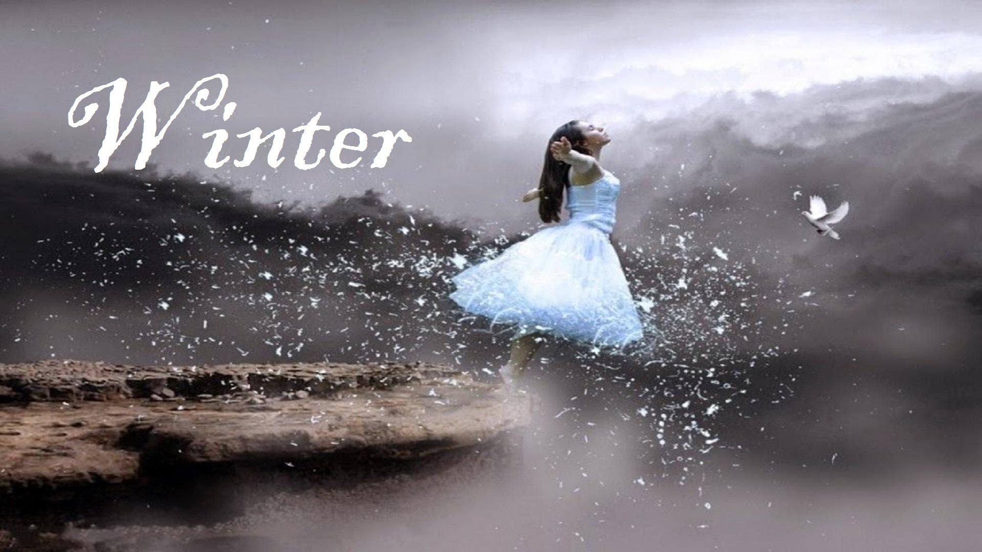 Amazing Art of Snow Falling free hd for desktop wallpapers
