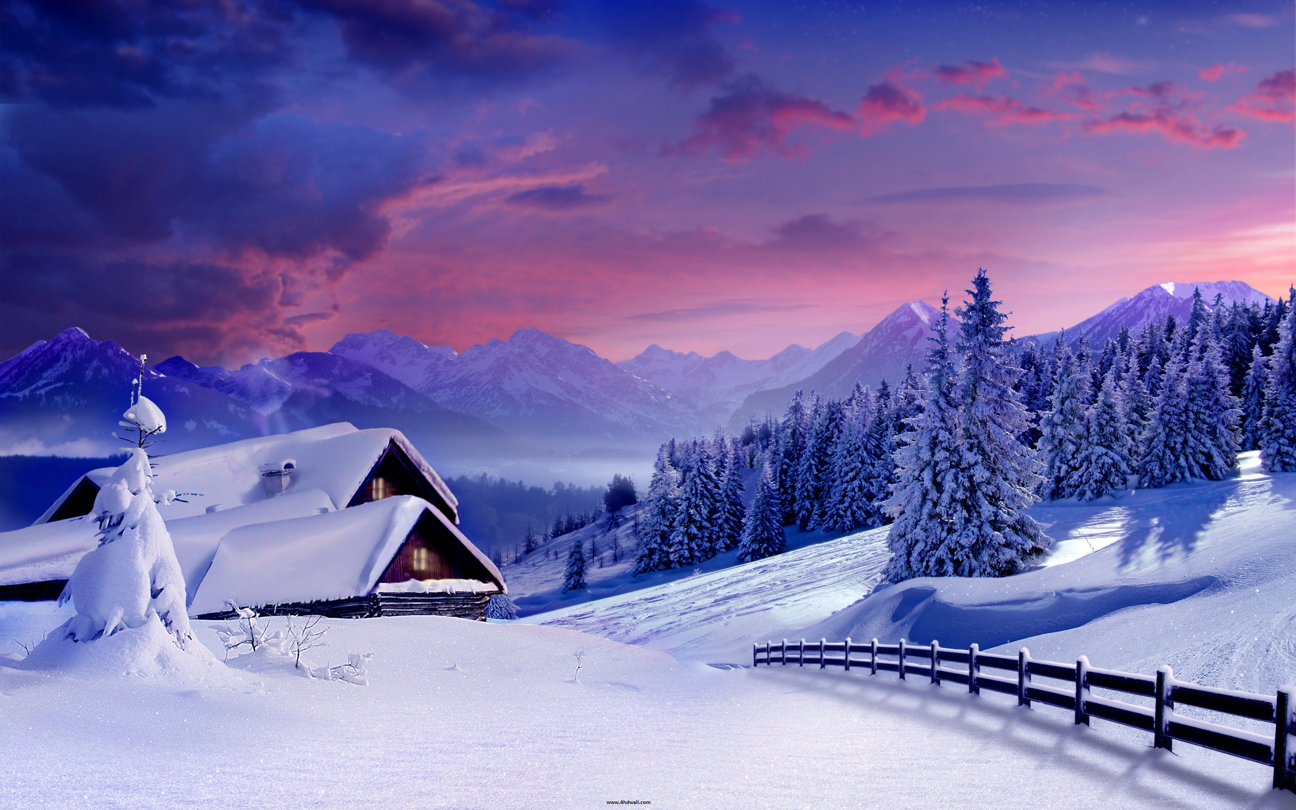 beautifulwinterhdwallpapersfordesktopfree hd wallpaper