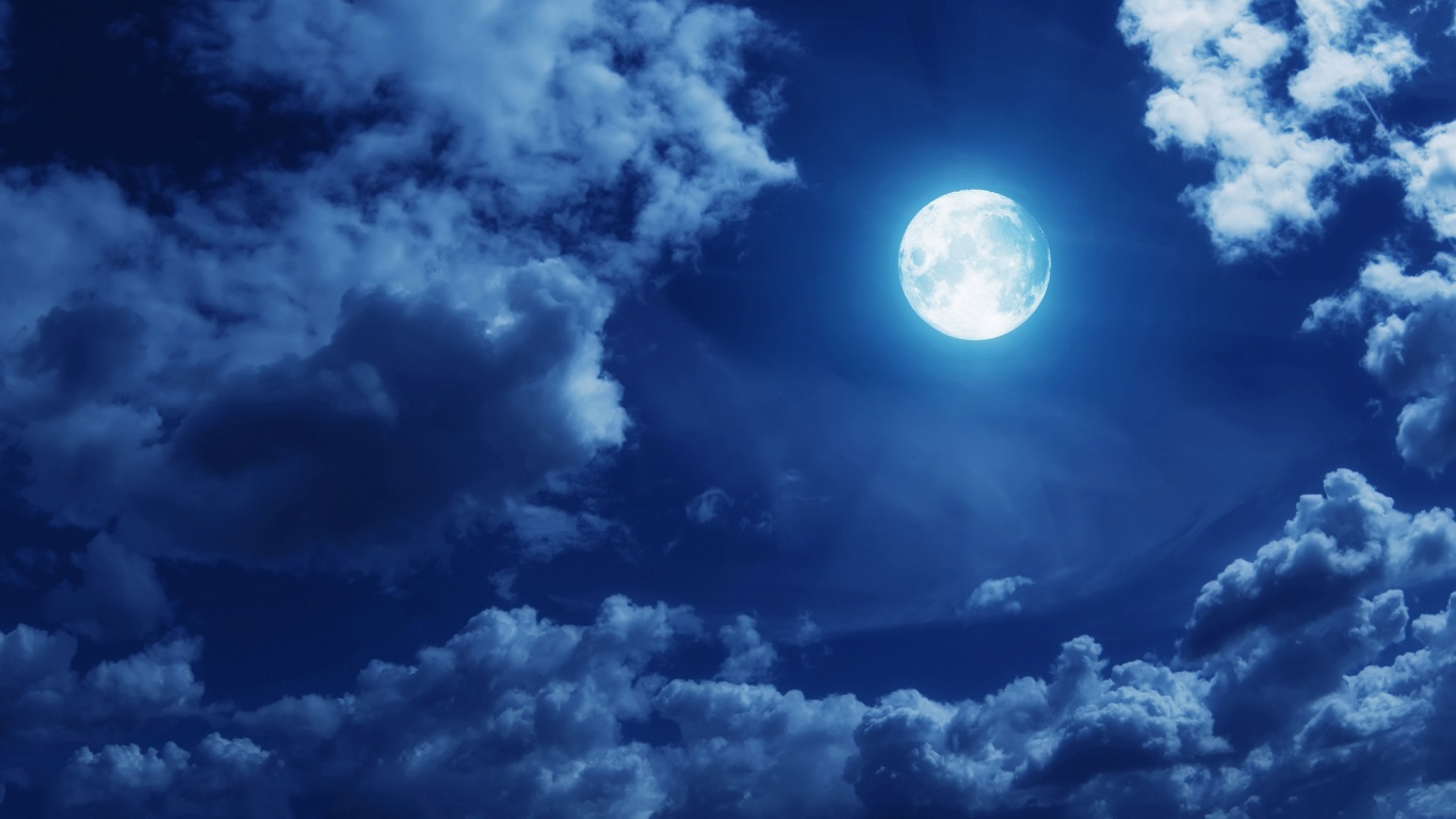 clouds-full-moon-free-wallpapers-hd - hd wallpaper