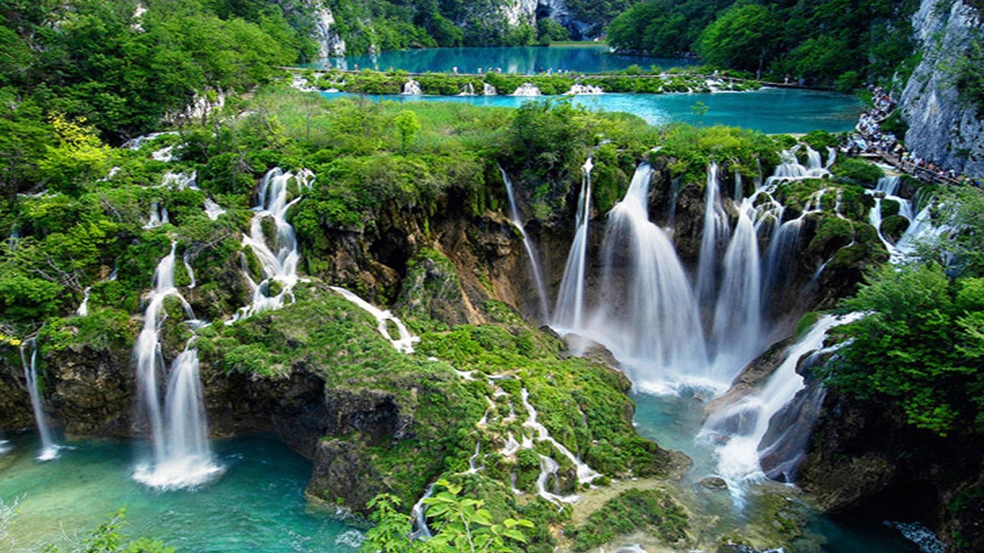 Beautiful Waterfall Nature Images