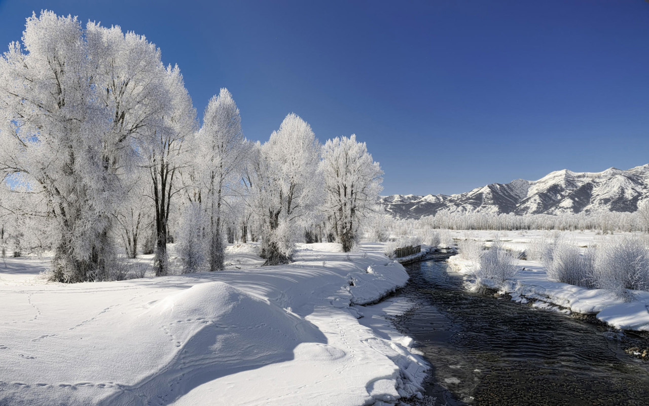 Winter Landscape Free Desktop Hd Wallpapers