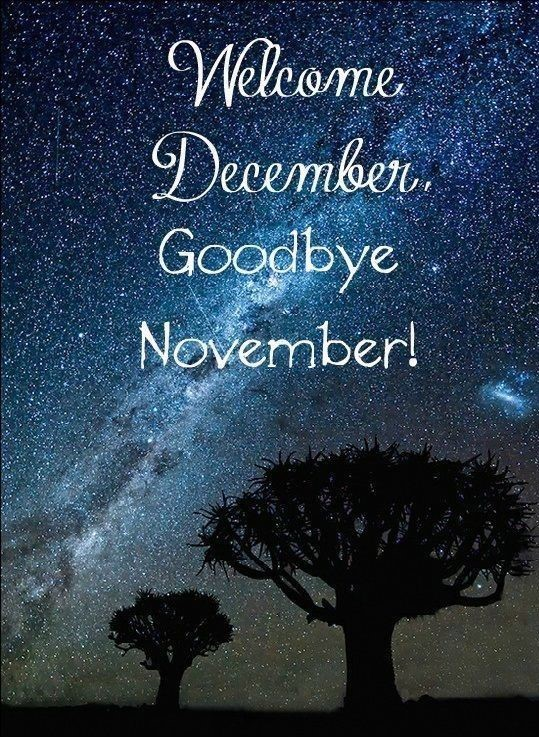 Lovely Welcome December Hd Goodbye November Stars Free Walpapers