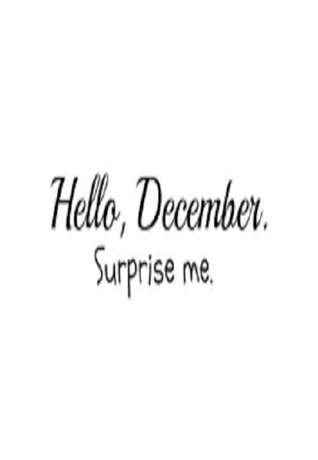 Hello December Quotes Free Hd Wallpaper