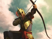 archer load bow man free hd wallpaper