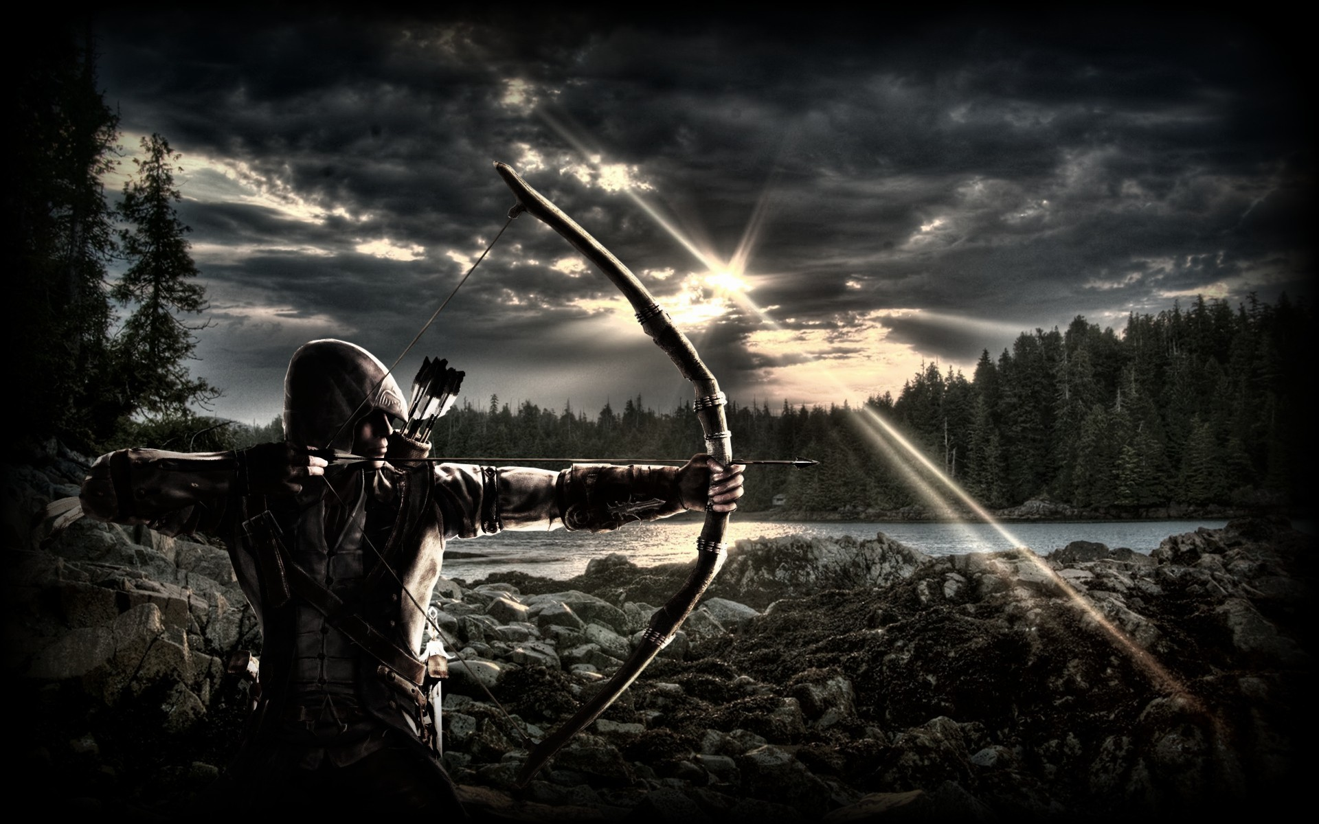 archery free hd wallpapers for desktop hd wallpaper