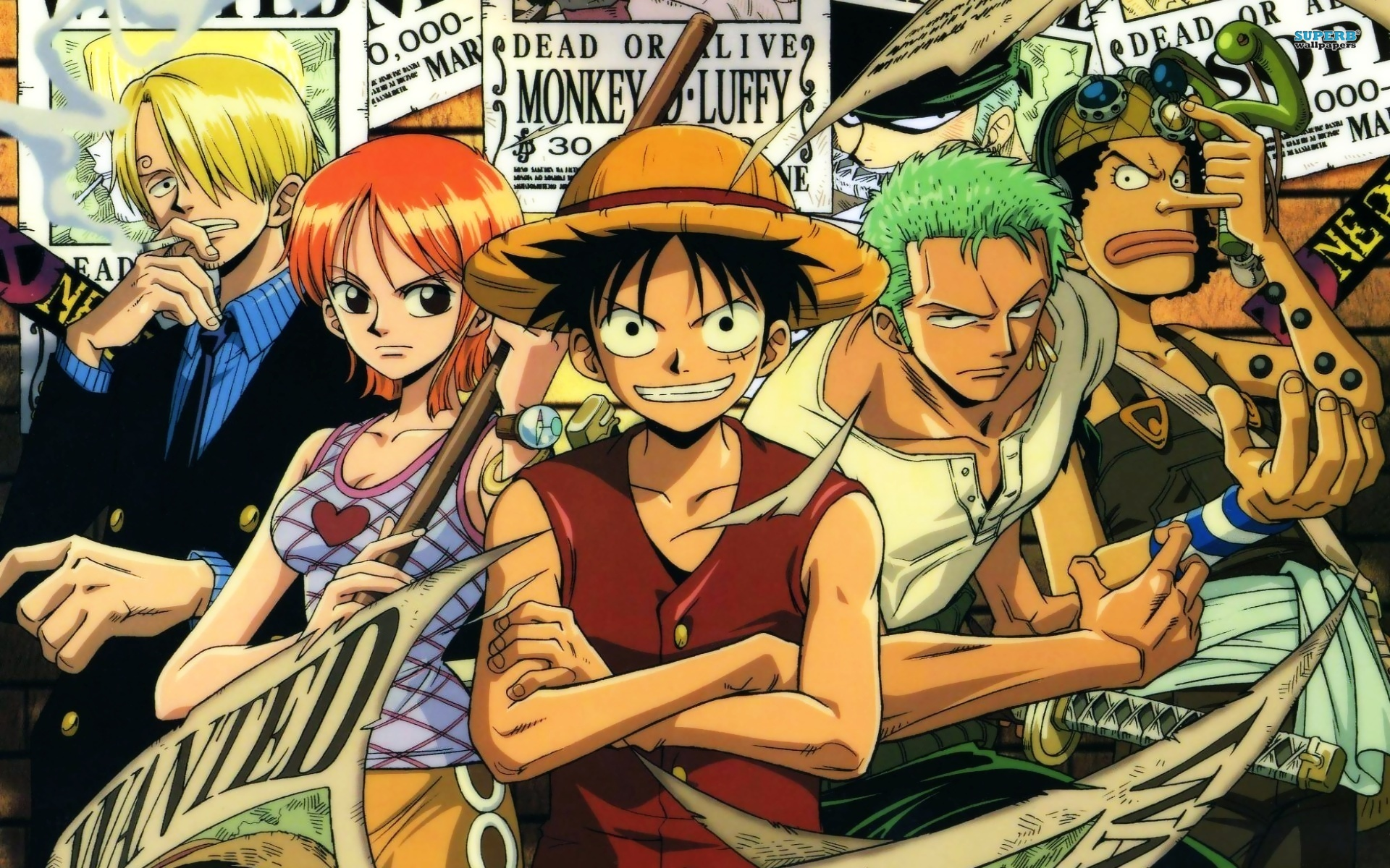 Nice Best New Wallappers Of One Piece Free Hd Wallpaper
