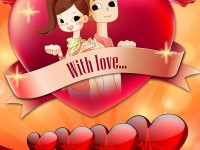 nice love valentine day wallpaper for mobile