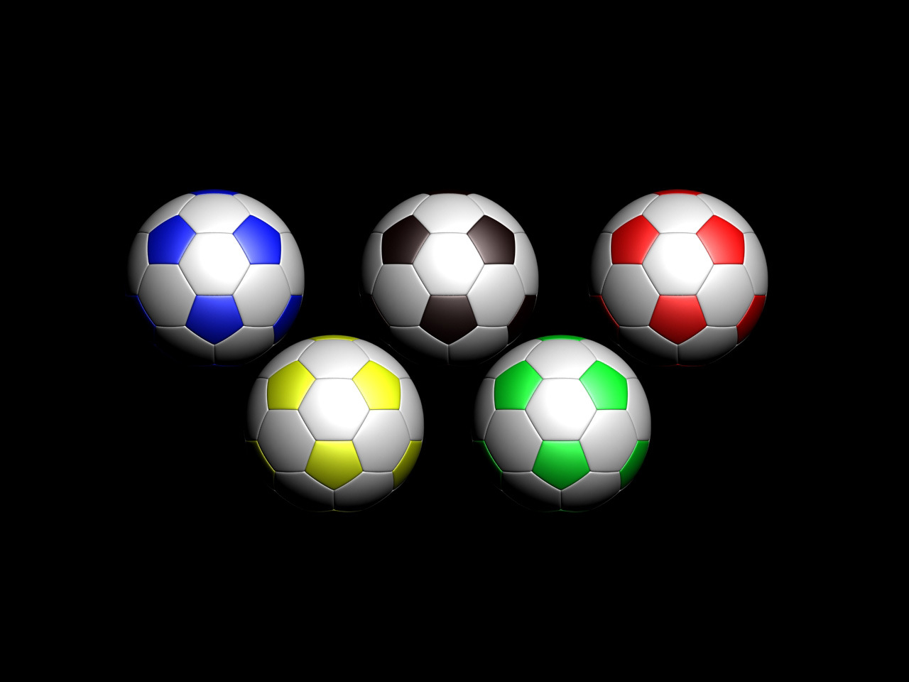 3d foot ball Soccer wallpapers collection