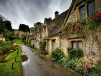 bibury england village landscape wallpapers hd free