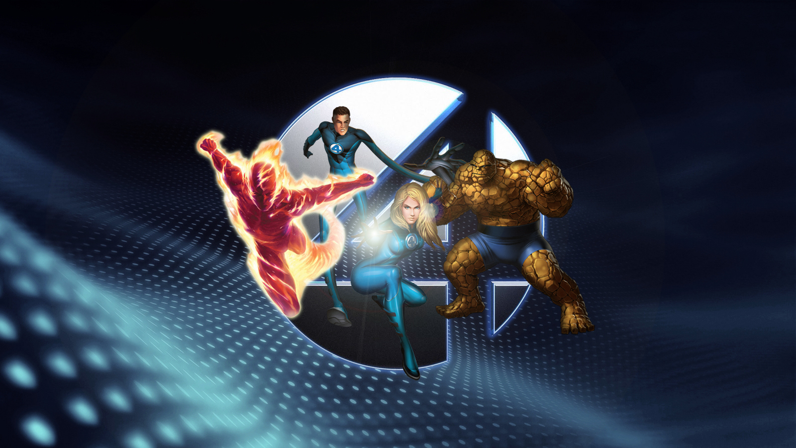 fantastic four backgrounds hd free wallpaper