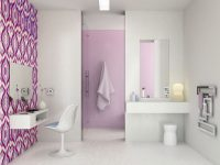 Bathroom Wallpaper Modren style and look