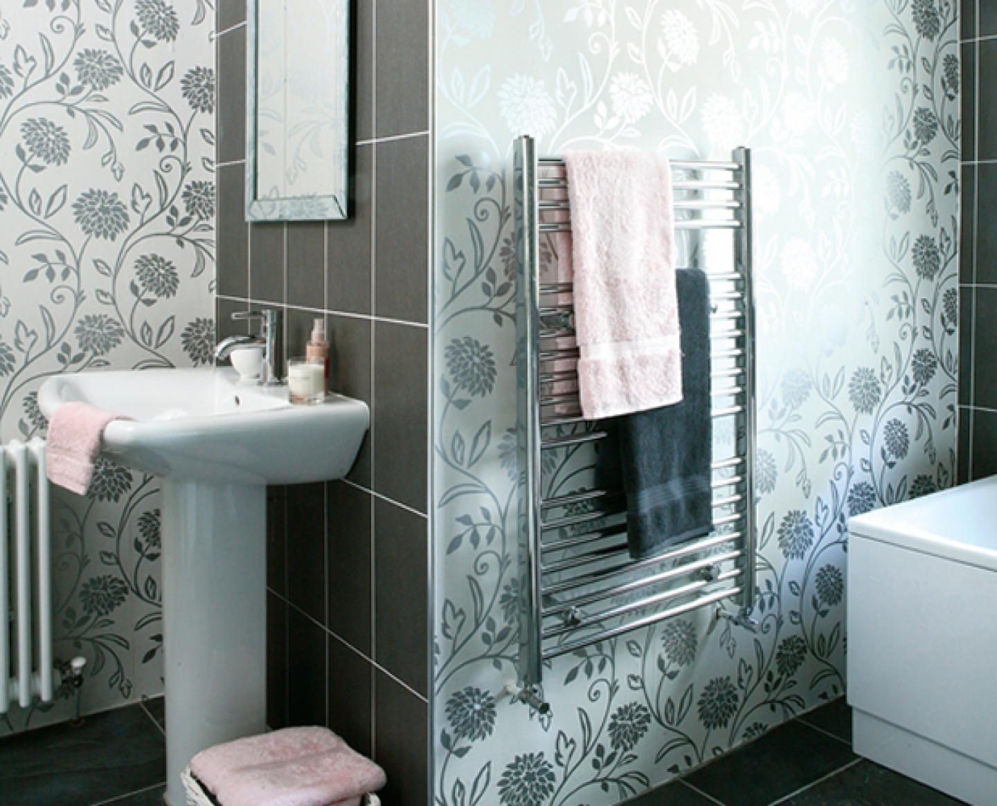 Bathroom Wallpaper ideas 2016 New