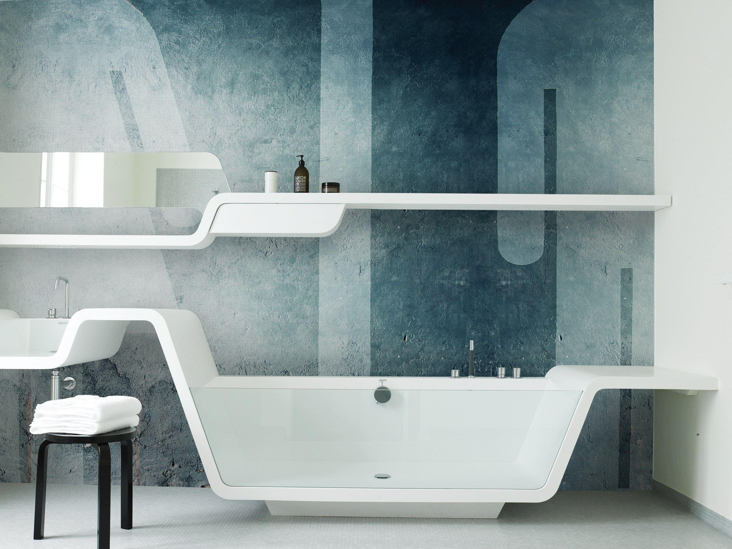 Blue Bathroom Wallpaper ideas
