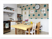 Floral Kitchen Wallpaper new trend