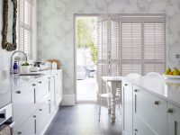 Kitchen wallpaper Decorating idea