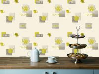 Kitchen wallpaper idea new look