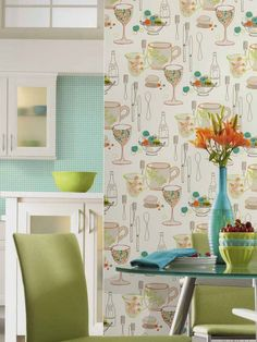 Latest Kitchen wallpaper style