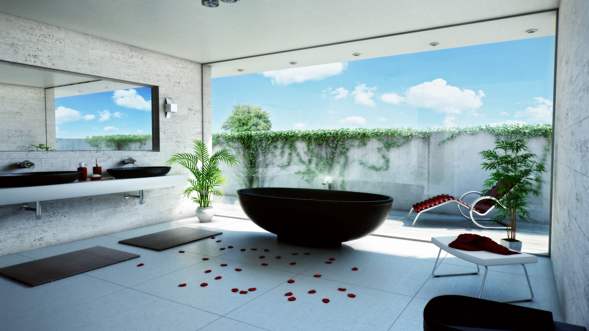 New Bathroom Wallpaper ideas