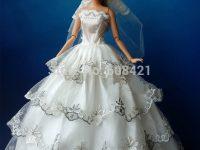 Barbie dolls birthday dress