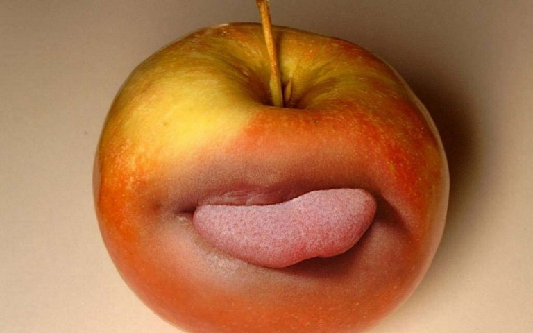 Apple funny wallpaper hd free download