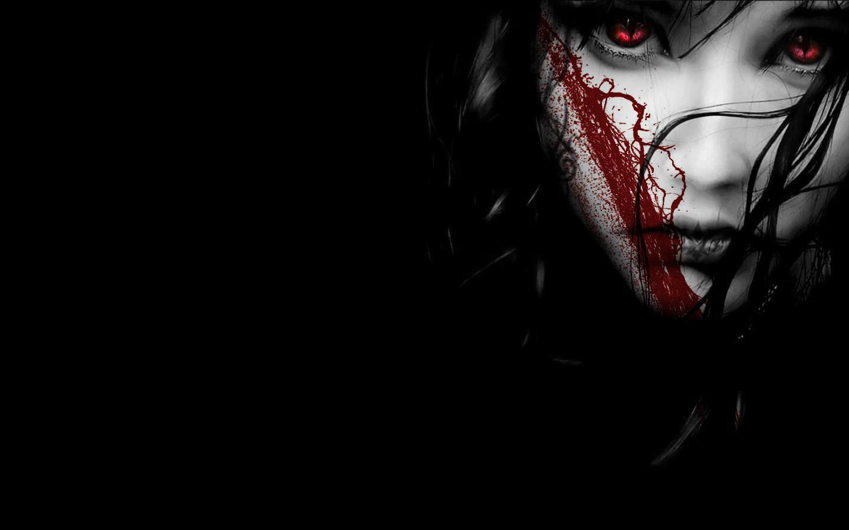 Dark blood funny wallpaper hd