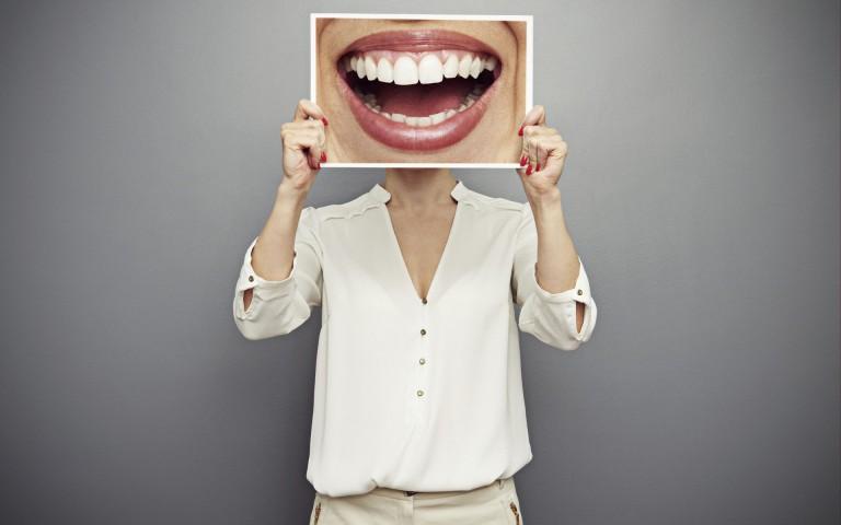 Teeth smile funny wallpaper