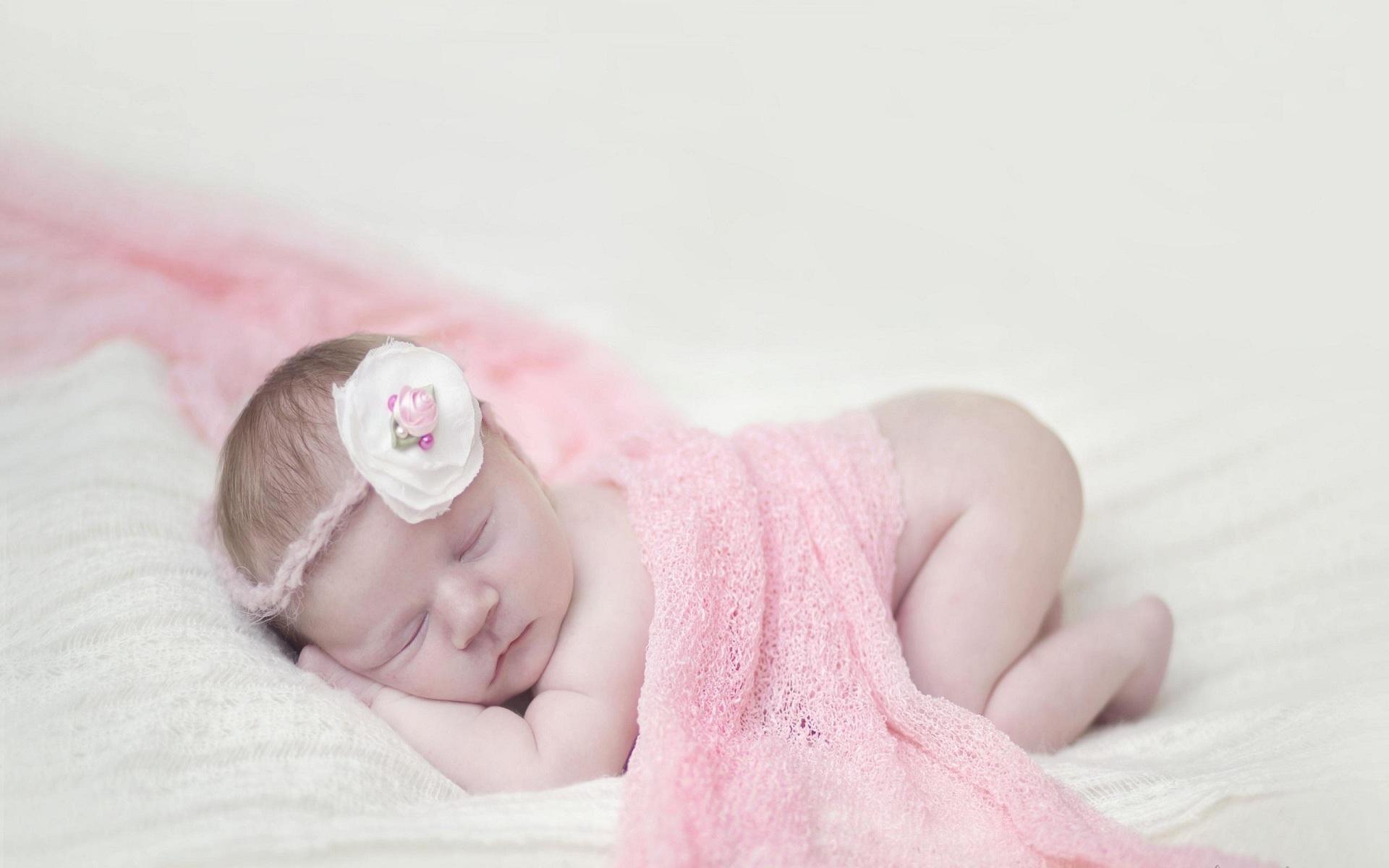 baby flower pink wallpaper for mobile