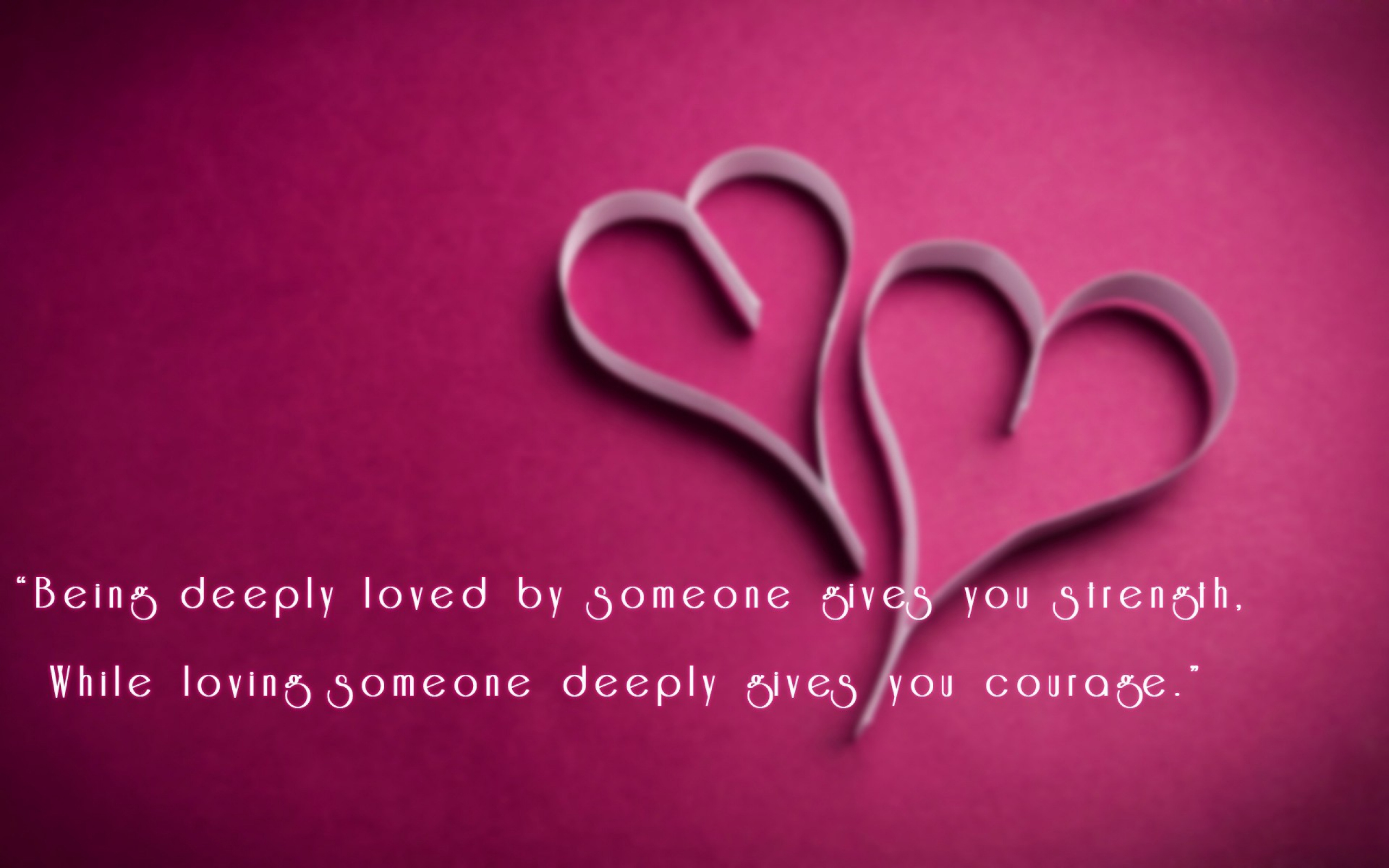 Cool Love Quote Desktop Wallpaper