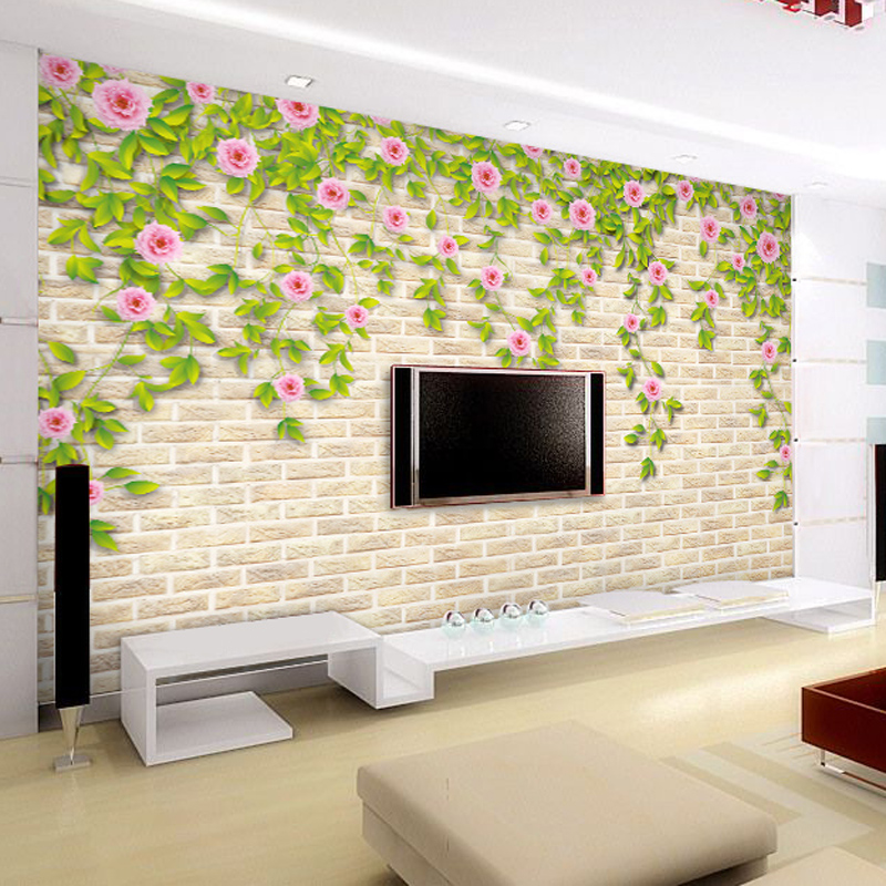 Living room wall self adhesive wallpaper hd wallpaper for Wall papers for rooms