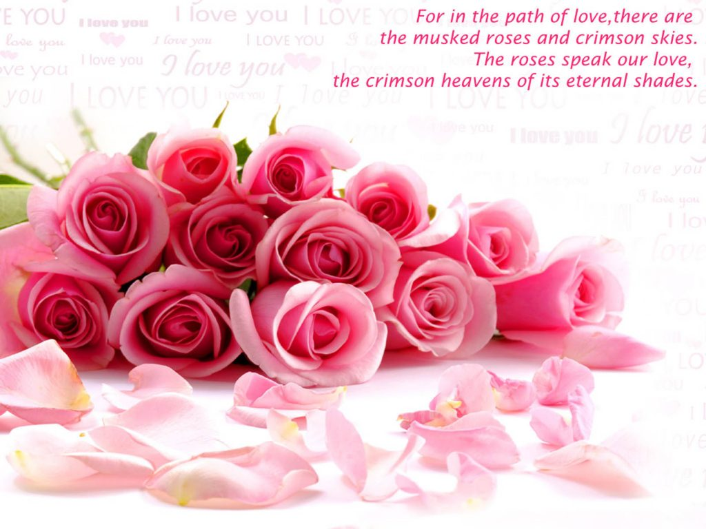 nice love quotes flowers wallpaper