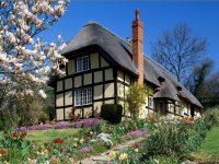 Beautiful Hd Scenery House Wallpapers