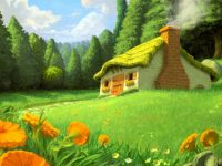 Nice House Hd Scenery Wallpapers