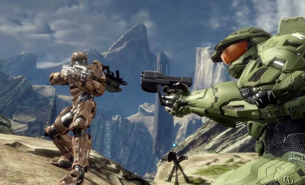 Master Chief Play Halo 4 War Games wallpapers hd