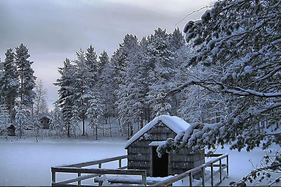 New winter scenery wallppers