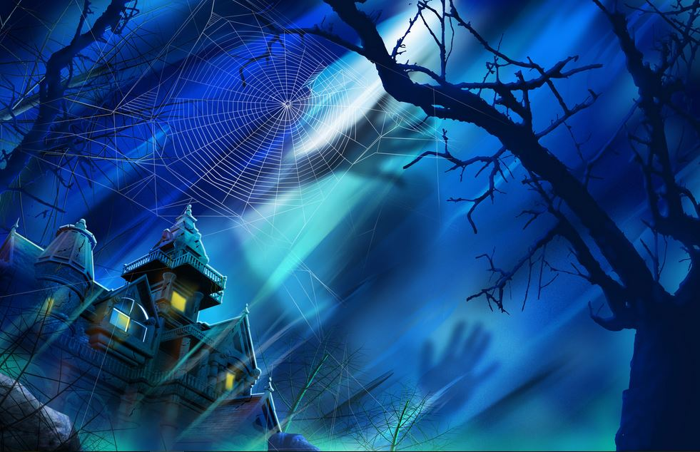 Free scary halloween backgrounds - HD Wallpaper