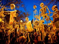 Halloween nightlife in New York
