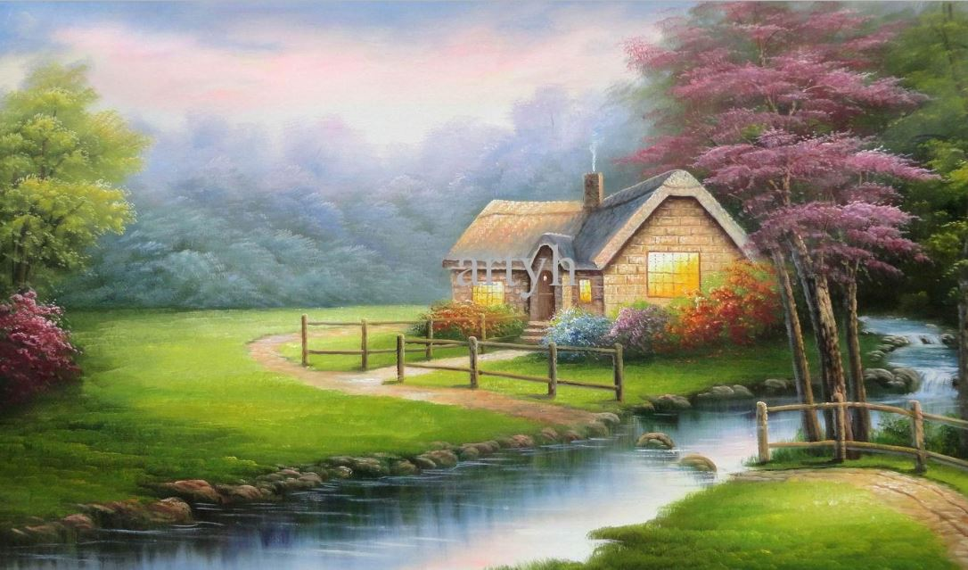Beautiful Hut Nature Wallpaper Download Hd Wallpaper