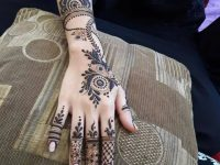 Arabic simple henna designs