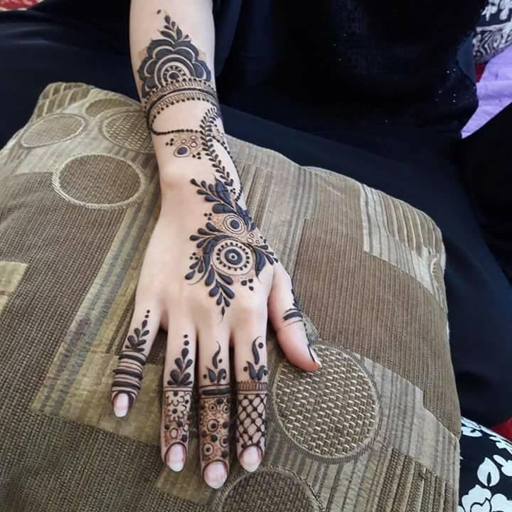 Arabic Simple Henna Designs Hd Wallpaper