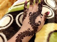 Easy henna mehndi designs