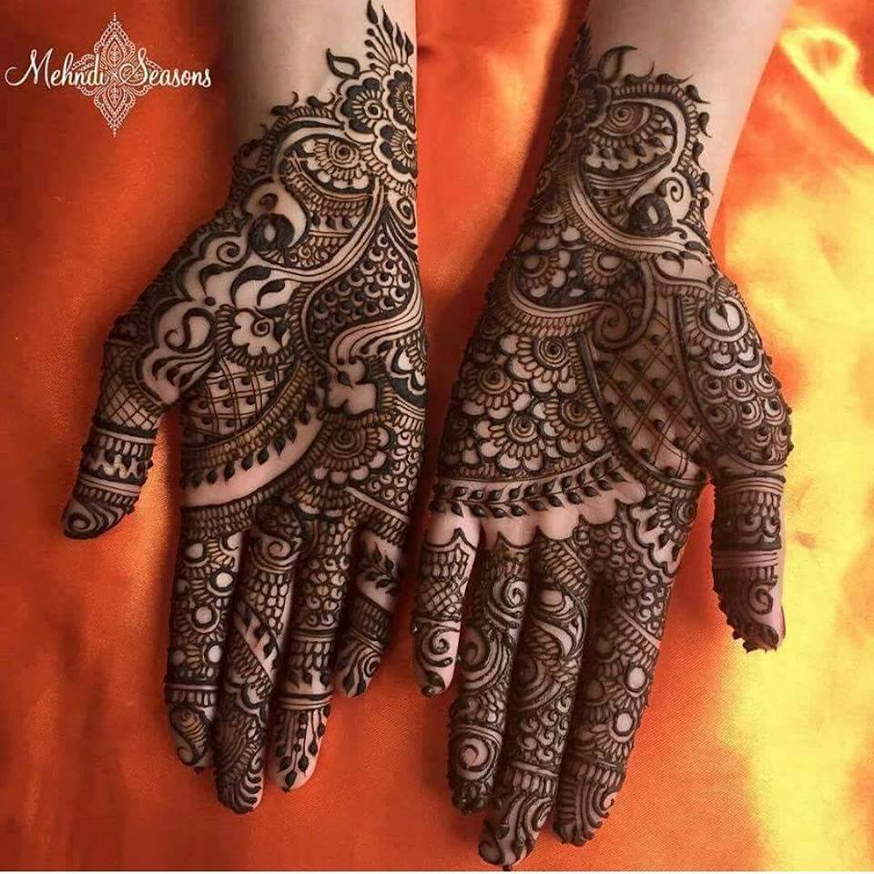 Easy Henna Mehndi Designs Full Hand Hd Wallpaper