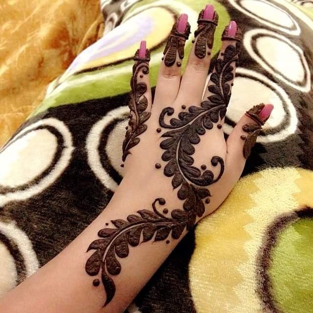 Easy henna mehndi designs