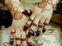 Fantastic images of mehndi designs for brides