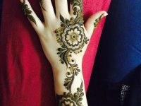 Fresh mehndi design image for full hands