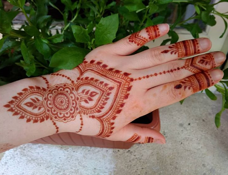 Latest Arabic Mehndi Designs Images