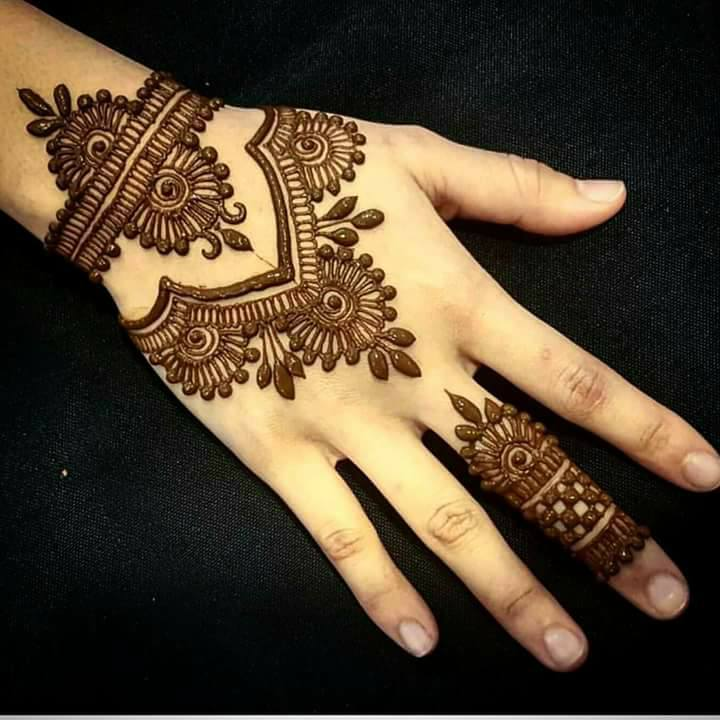 New year mehndi designs images