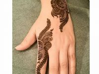 Simple floral mehndi designs