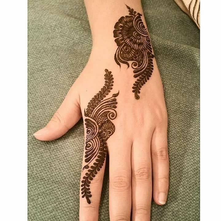 Simple Floral Mehndi Designs Hd Wallpaper